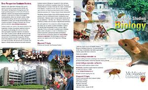 Graduate Studies in Biology Brochure